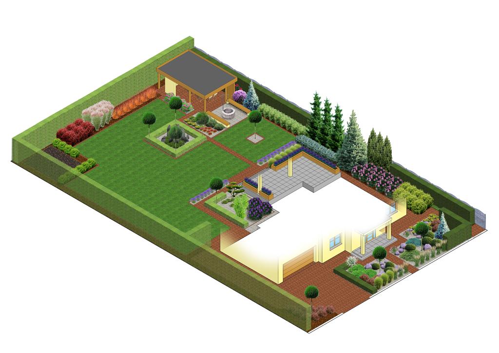 Projekty koncepcyjne ogrodów