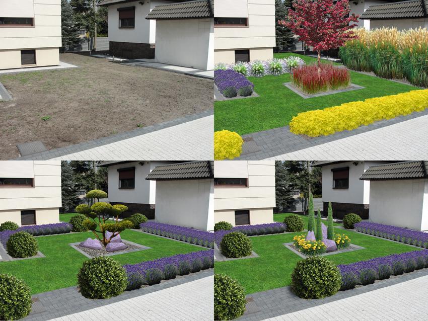 Fotoprojekty ogrodów